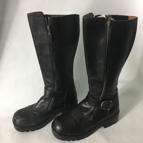 3f48f43ef27 HARLEY DAVIDSON Belhaven Tall Riding Boots